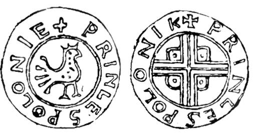 orzeł, heraldyka, legenda, państwo polskie, średniowiecze