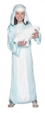 Disfraz de María para niña| ideal para Navidad