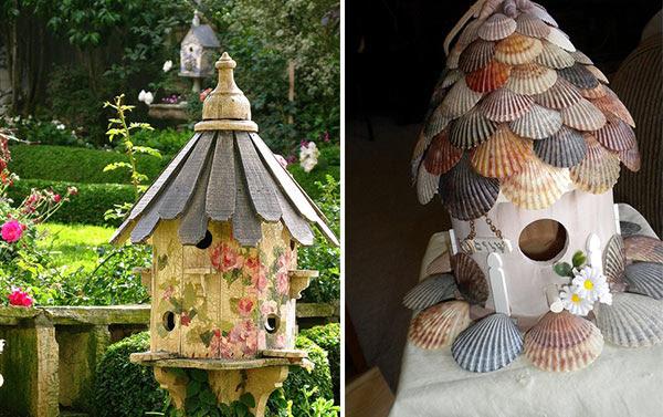 Conchas e lindo trabalho em madeira