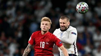 Англия и Дания сыграют седьмой матч с дополнительным временем на Евро-2020