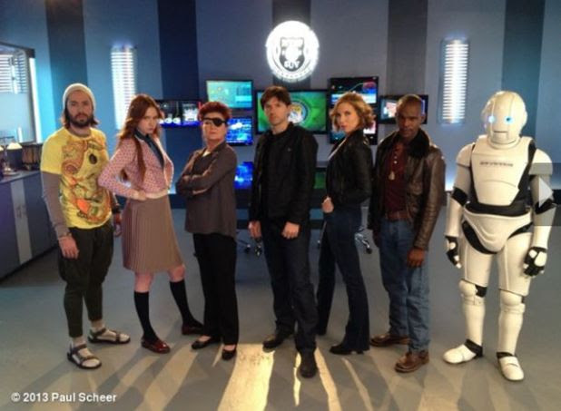 Karen Gillan and the cast of 'NTSF:SD:SUV::'