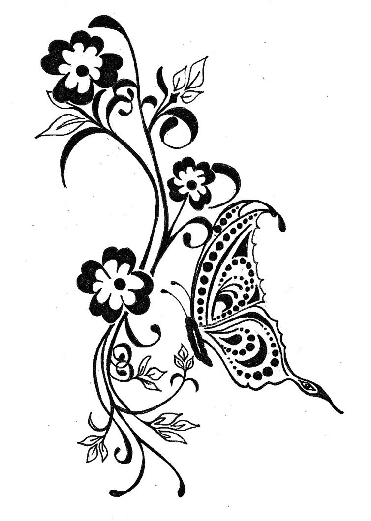 Celtic Butterfly Tattoo Designs For Ladies Tattoomagz