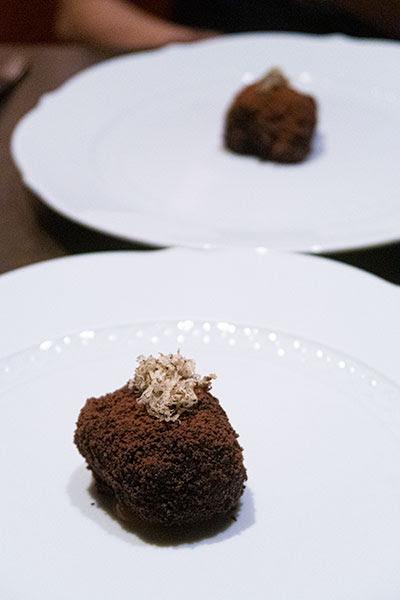 Aura National Gallery Singapore Black Truffle Tiramisu