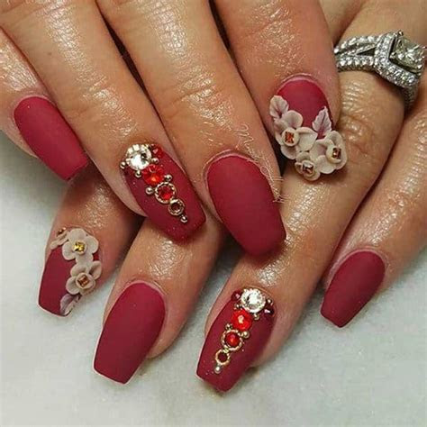 25 Hottest and Cute Red Nail Designs 2018 ? SheIdeas