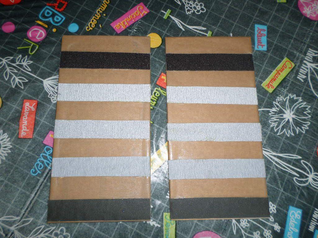 Les tablettes lisses et rugueuses Montessori