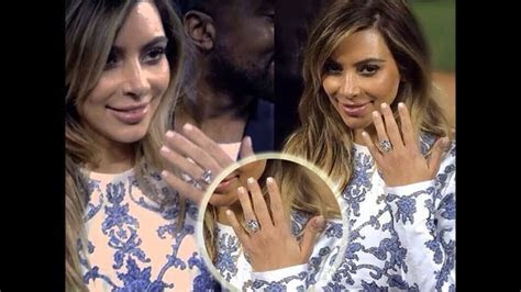 Kim Kardashian's Amazing Engagement Ring From Kanye West