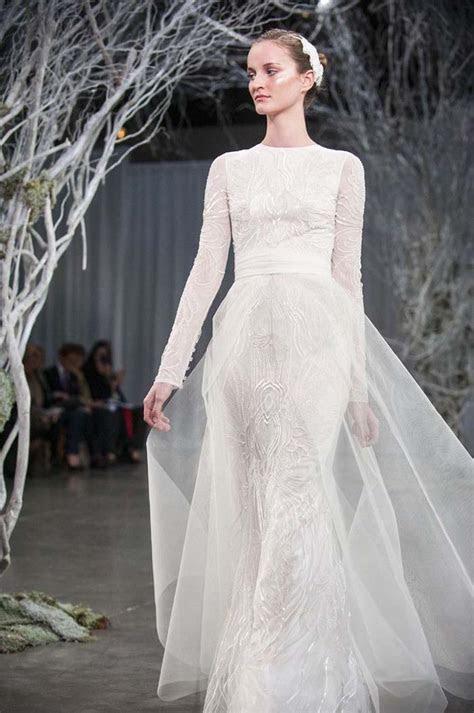 The Loveliest Long Sleeved Wedding Dresses   Modern Wedding