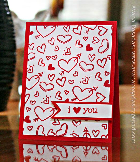 I Heart You- Hearts Background