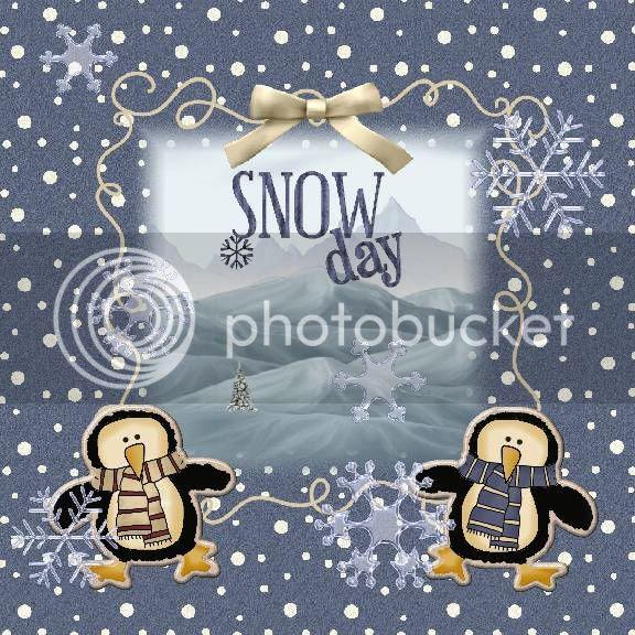 Winter,Clip Art Creations,Penguins