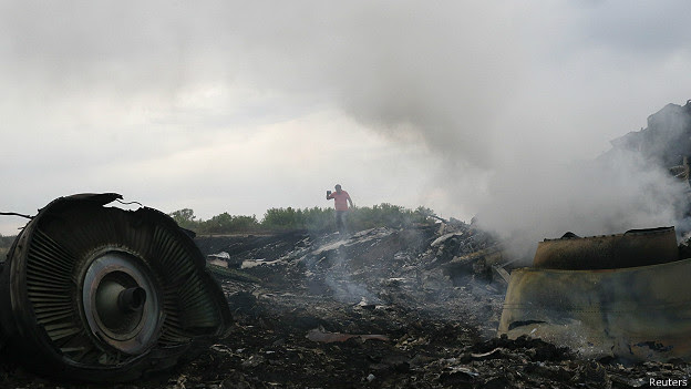 Destroços (Reuters)