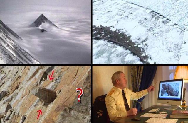 Antarctica secrets