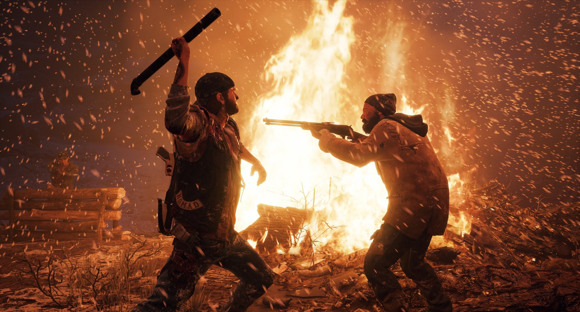New Days Gone footage explains how seasons change everything screenshot