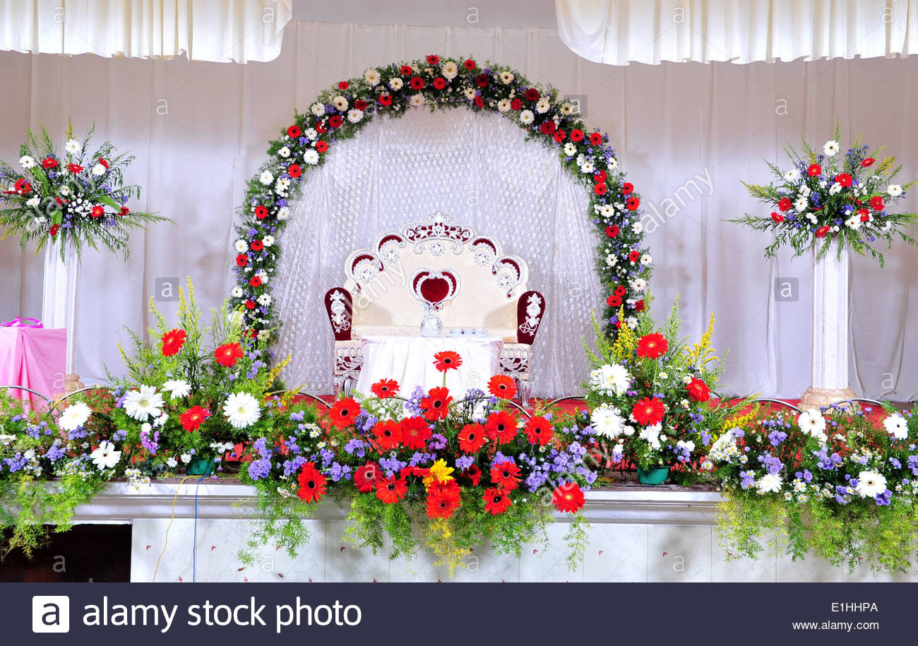 Flower Decoration In Marriage Images Top Collection Of Different