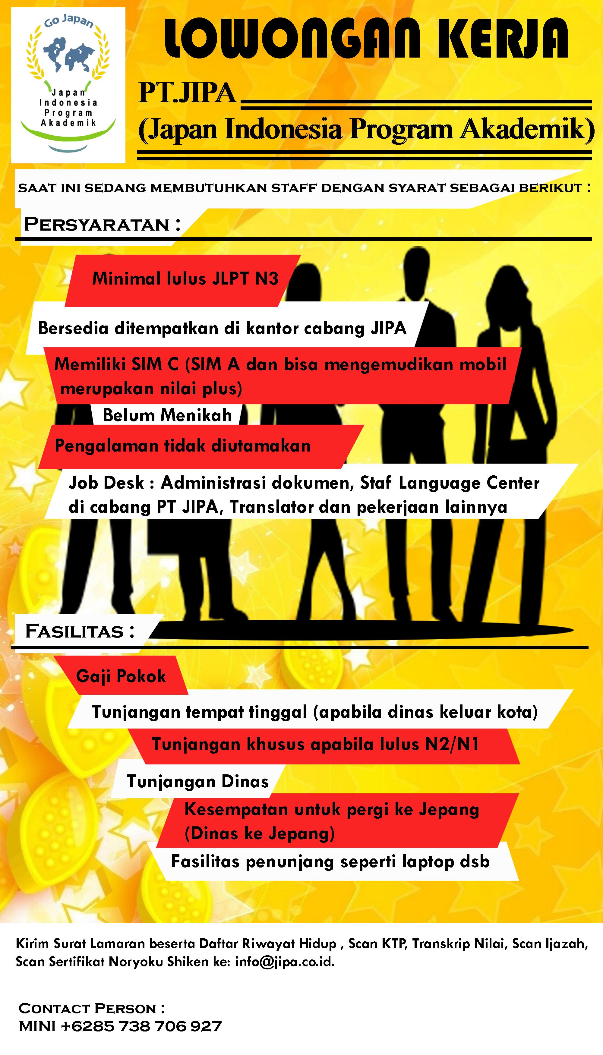Berita JIPA | PT. JIPA