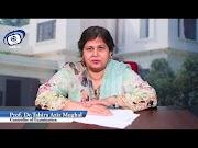 Update About Academic Calendar of LCWU, Prof. Dr. Tahira Aziz Mughal