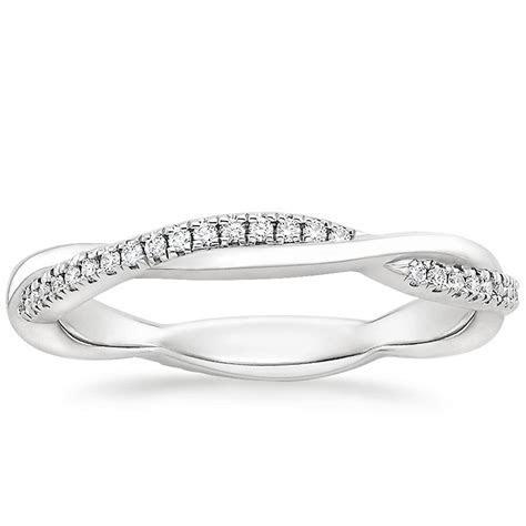 Petite Twisted Vine Eternity Wedding Ring   Brilliant Earth