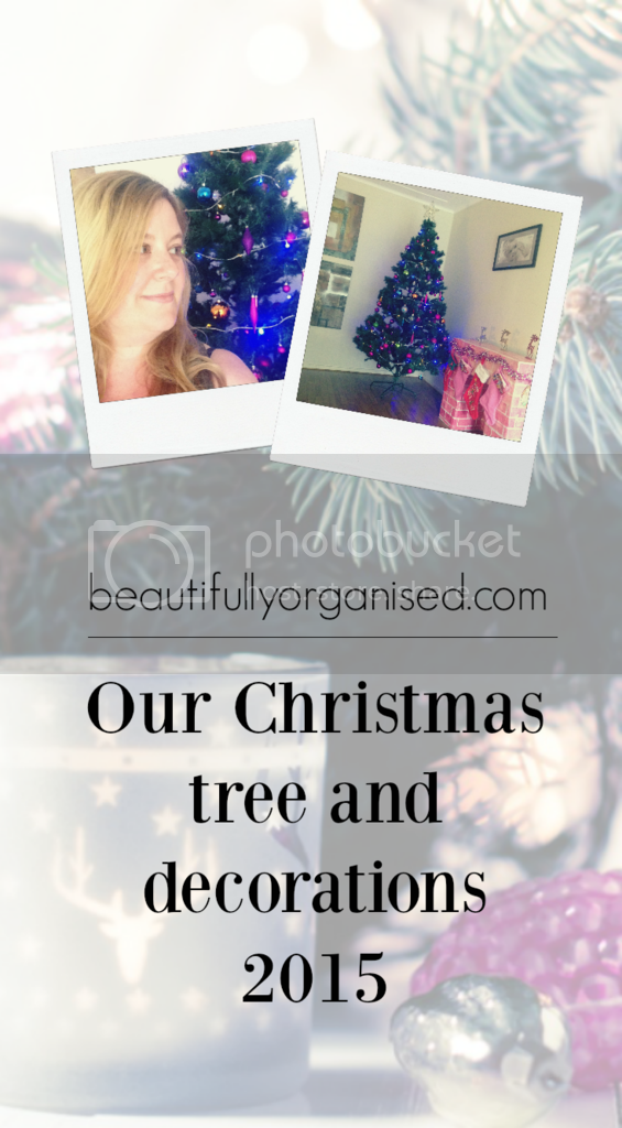 Beautifully Organised: Our Christmas tree and decorations 2015