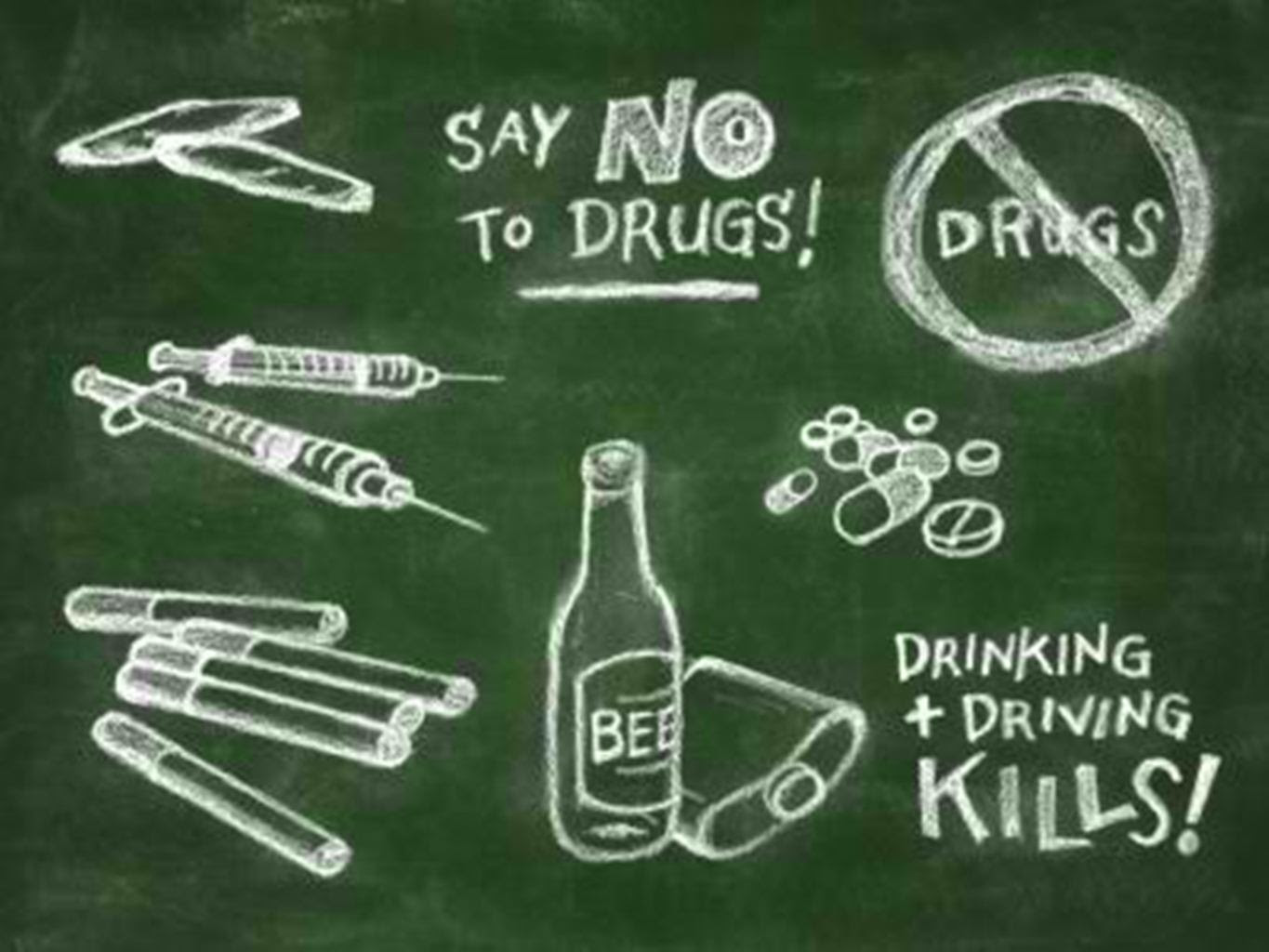 Say No To Drugs Publish With Glogster
