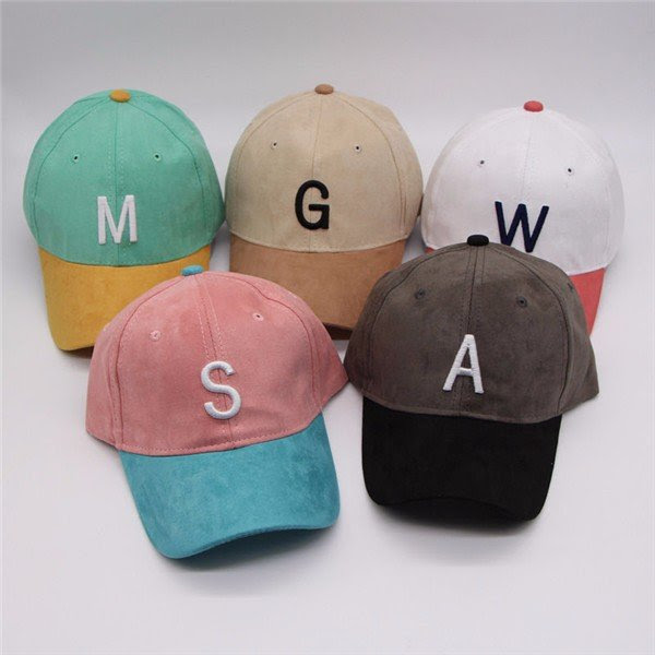 Men Women Boys Letters Baseball Cap Adjustable Strapback Trucker Hats
