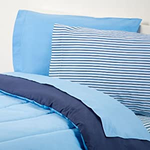 Amazon.com: Extra-long Twin Sheet Set, Oxford Stripe: Home & Kitchen