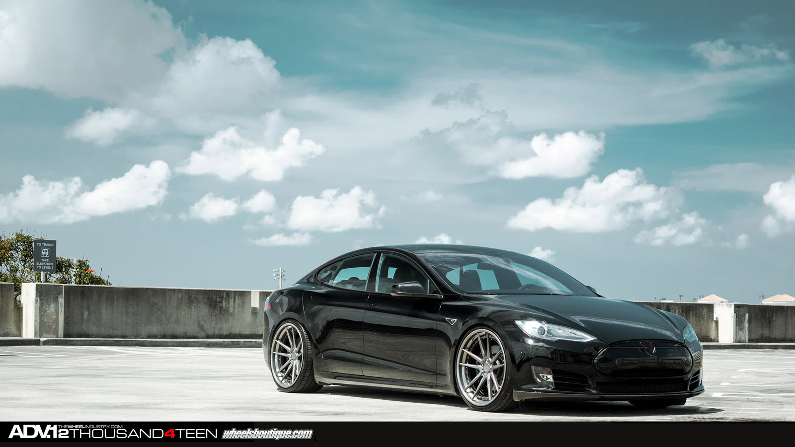 Tesla Model S Receives 22 Inch Adv 1 Wheels Autoevolution