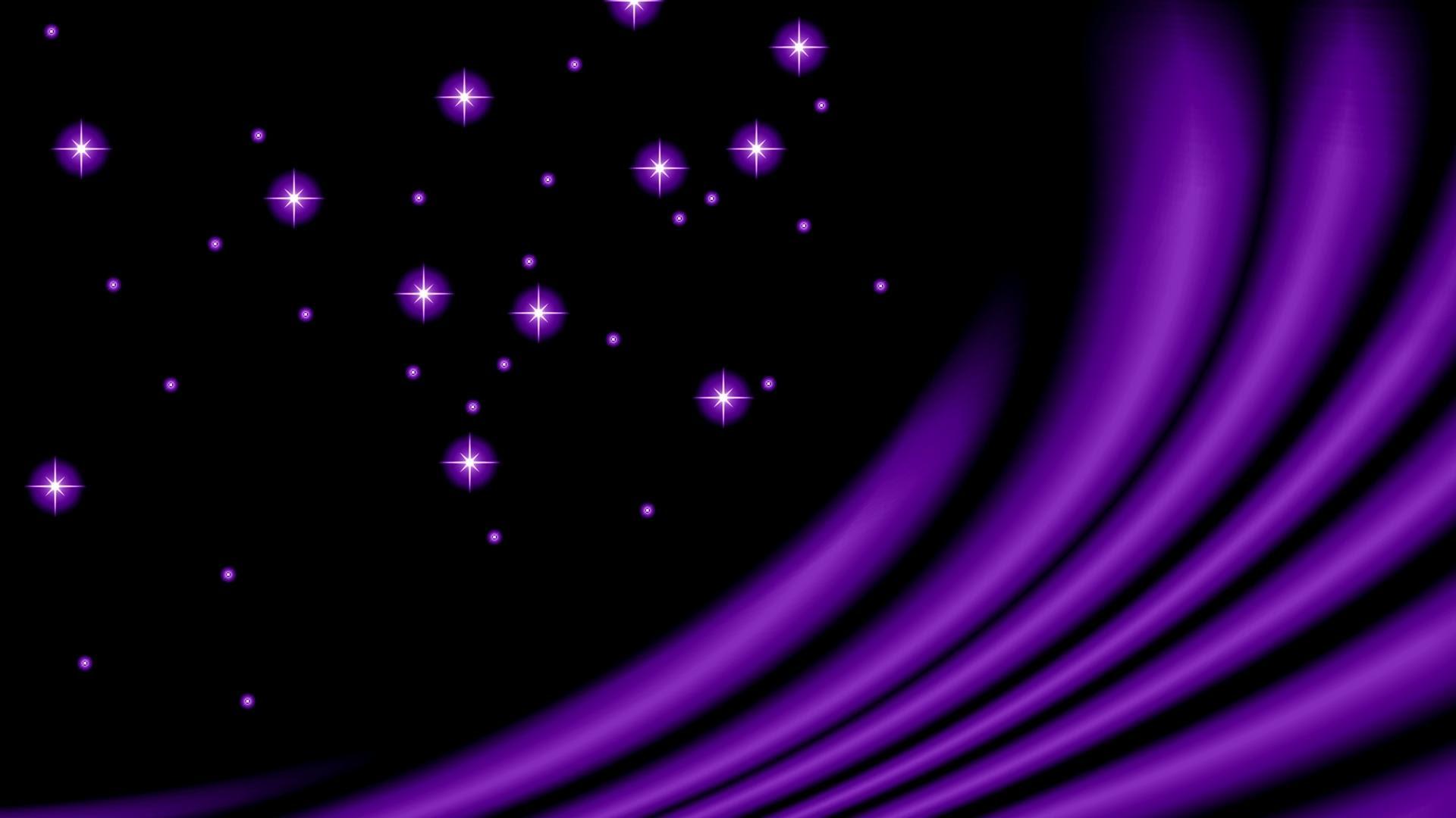 Bintang Ungu Hd Wallpaper Desktop Lebar Definisi Tinggi Fullscreen