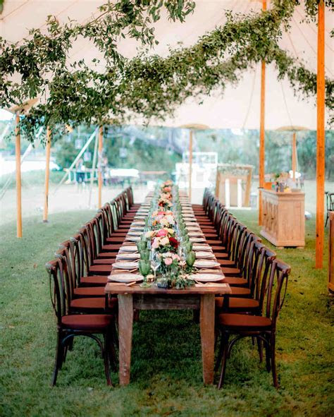 42 Stunning Banquet Tables for Your Reception   Martha