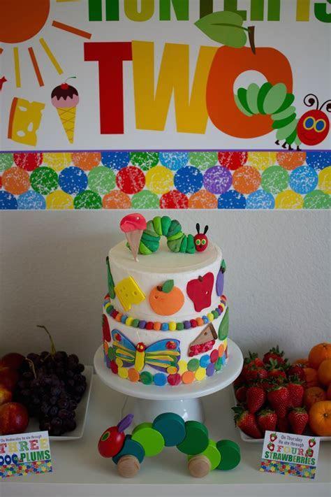 Kara's Party Ideas Very Hungry Caterpillar 2nd Birthday Party