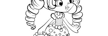 Free Printable Shopkins Shoppies Coloring Pages