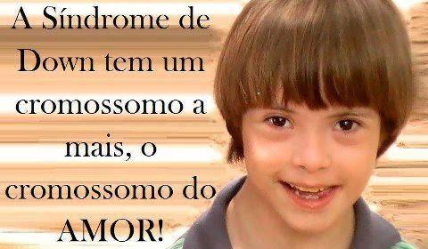 Frases Do Facebook A Síndrome De Down Tem Um Cromosoma A Mais O