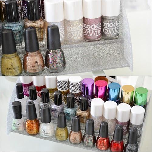 glitter nail polish rack ebay
