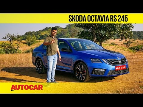 Skoda Octavia RS 245 review - Offer valid till stocks last! | First Drive| Autocar India