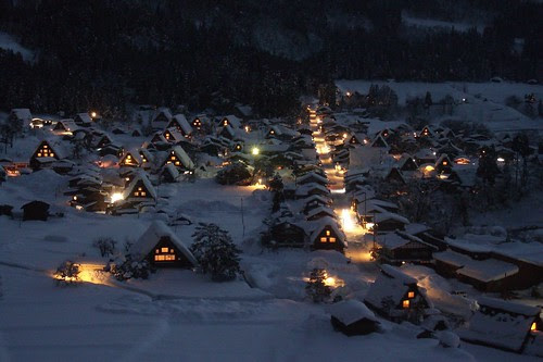 Shirakawago Ogimachi view 060109 #3