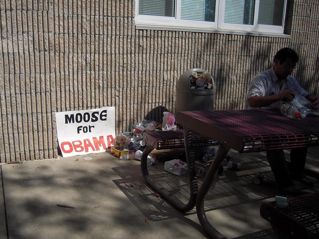 moose for obama