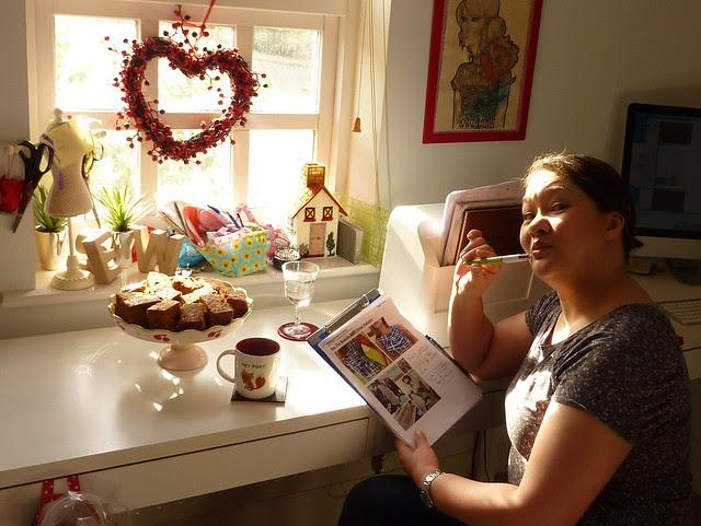 Rachel's sewing room