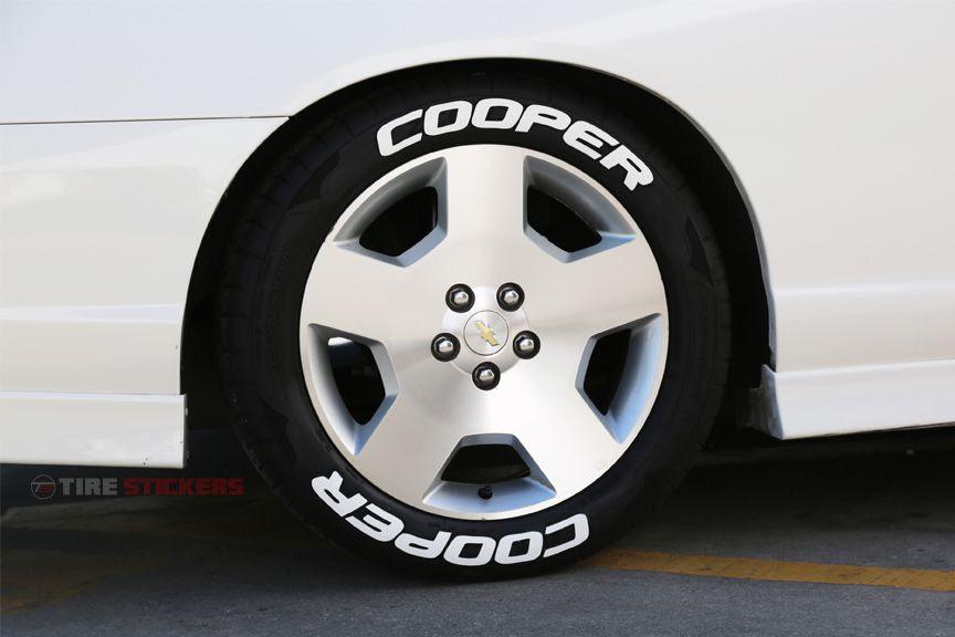 Cooper Tires Tire Stickers