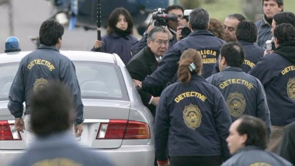 Alberto Fujimori fue extraditado desde Chile en septiembre del 2007