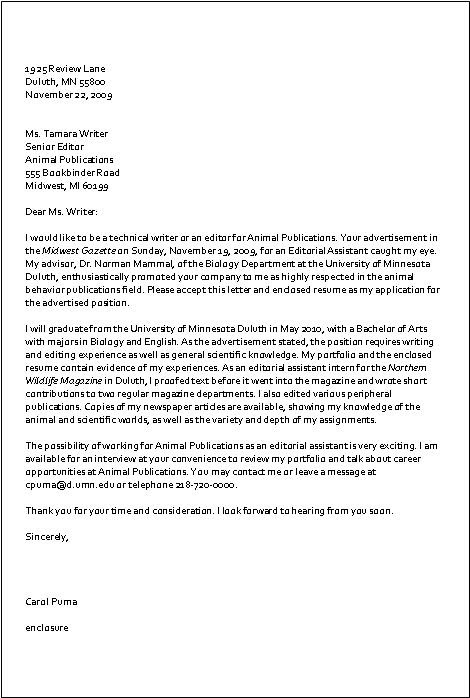 Sample Inquiry Letter Sample Cover Letter Written To