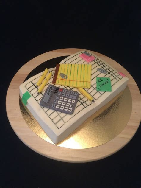 Finance cake, cake for accountant   My cakes   Pinterest