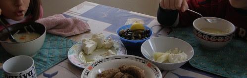 kid-friendly egg and lemon soup