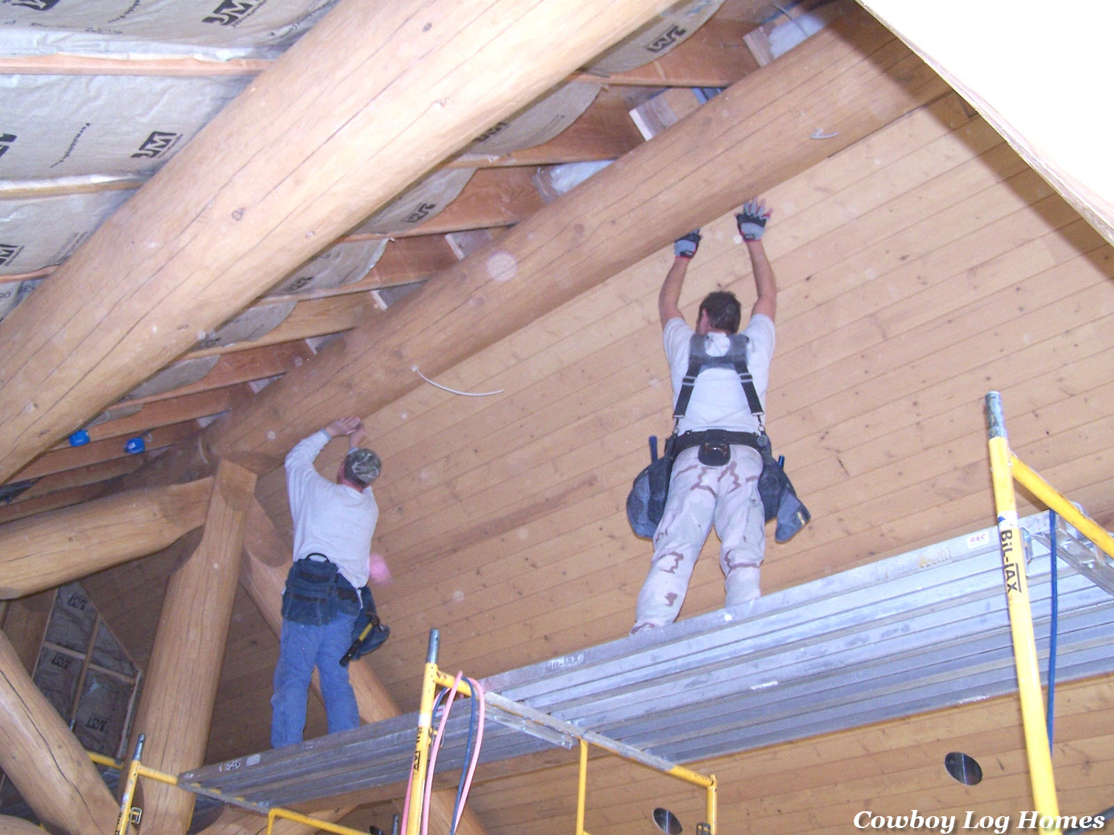 Sept 15 tongue and groove wood ceilings log home