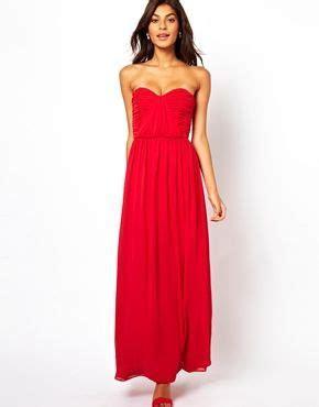Image 4 of ASOS Bandeau Ruched Maxi Dress   sp   Dresses