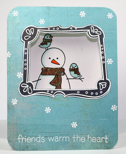 Window Snowman