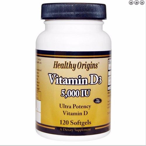 Vitamina D-3 5000 Ui 120 Caps Pronta Entrega!