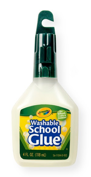 4-oz. Bottle No-Run School Glue