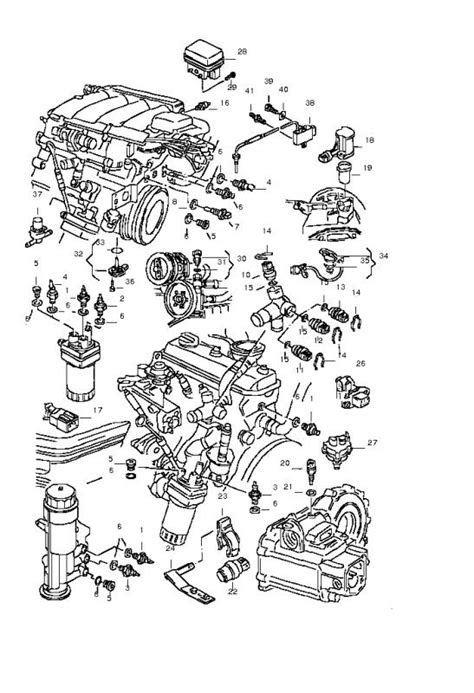 2000 Vw Beetle Engine Diagram | Automotive Parts Diagram