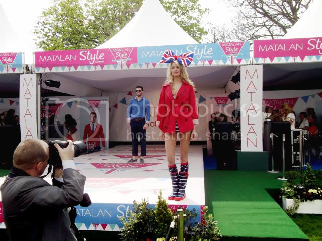 Matalan style show, Matalan style contest, union jack fashion, aintree ladies day
