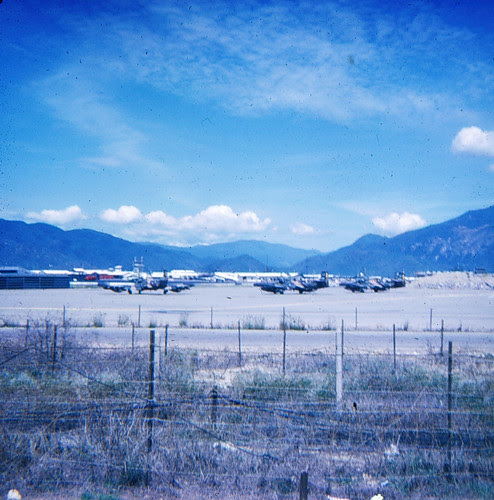 Aircraft at base