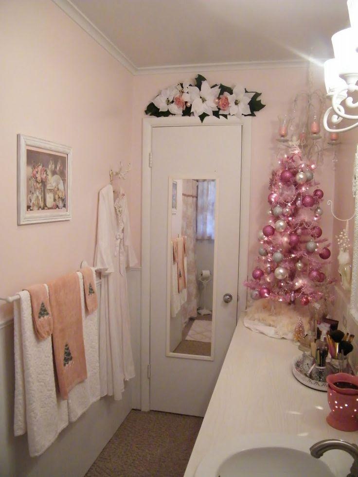 Bathroom Christmas Decorations Ideas - Decoration Love