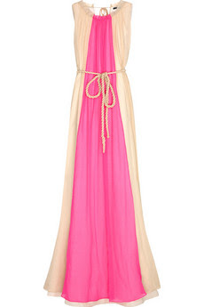 J.Crew Phyllis silk-chiffon maxi dress